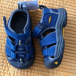 Keen Kids' Seacamp II CNX-C blue gargoyle size 5